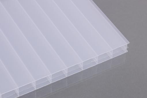 Stegdreifachplatten Polycarbonat 16mm weiß-opal