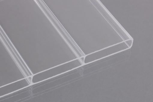 Doppelstegplatten Acrylglas 16mm Breitkammer