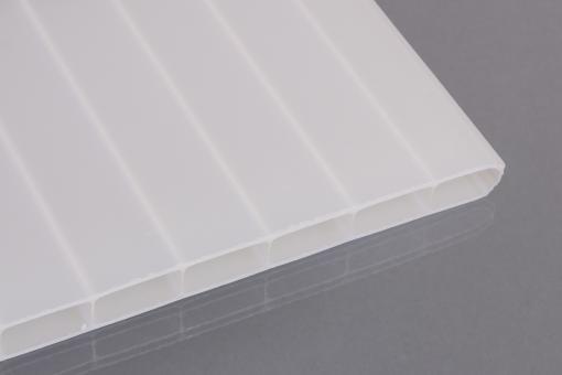 Doppelstegplatten Acrylglas 16mm weiß-opal