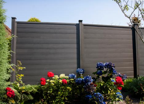 GrojaSombra 180x180x2,7 cm Standard Graphite Black
