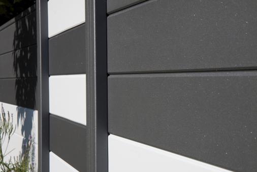 GrojaLumino Alu-Stecksystem 180x180 (Bausatz) Anthrazit