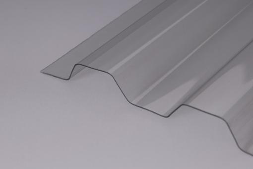 Lichtplatten PVC 1,2mm 70/18 Trapezprofil Ondex HR klar